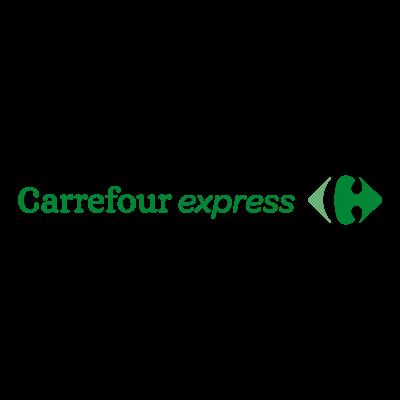 Carrefour Express logo vector logo