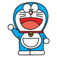 Doraemon vector logo