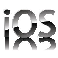 IOS logo vector