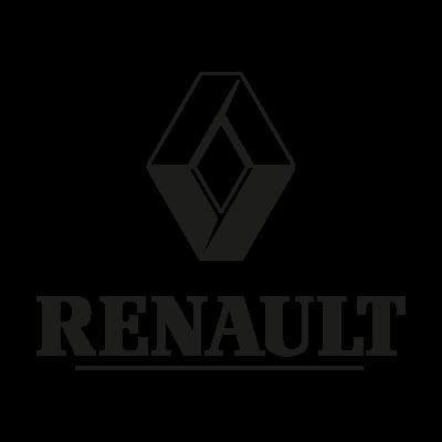 Renault black logo vector (.EPS, 383.15 Kb) logo
