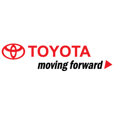 Toyota Moving forward logo vector logo