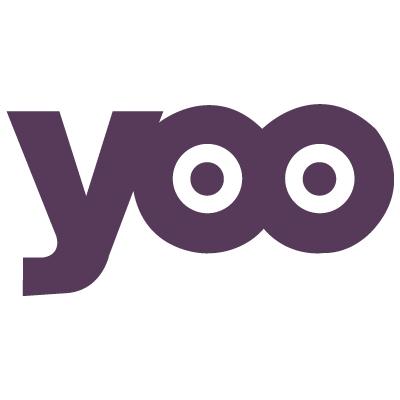 Yoo logo vector logo