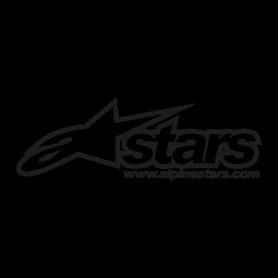 A Stars Alpinestars logo vector logo