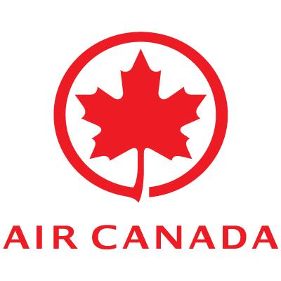 Air canada logo vector logo