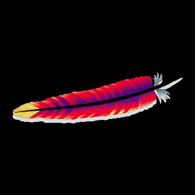 Apache logo vector logo