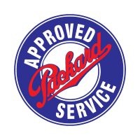 Approved packard service logo