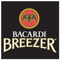 Bacardi breezer logo vector logo