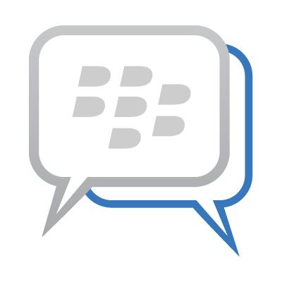 Blackberry Messenger BBM logo vector logo