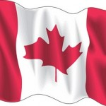 Canada wave flag logo vector logo
