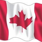 Canada wave flag logo