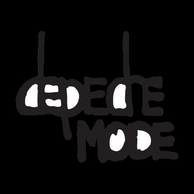 Depeche mode logo vector logo