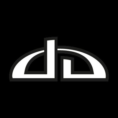 DeviantART Black logo vector logo