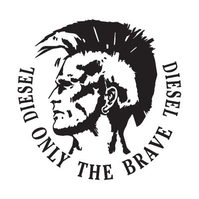 Diesel Only The Brave logo vector logo