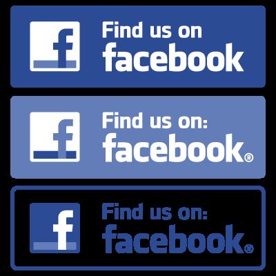 Find us on Facebook logo vector logo