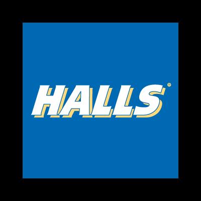 Halls logo vector logo