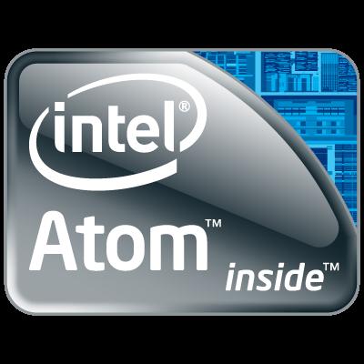 Intel Atom logo vector logo