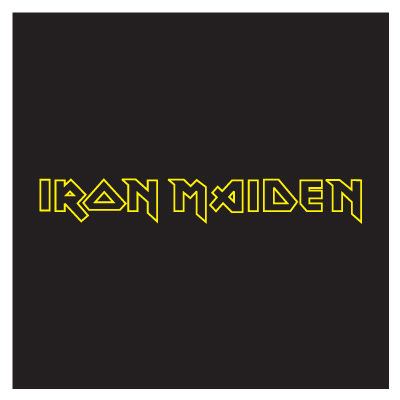 Iron Maiden logo vector logo