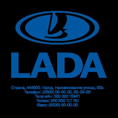 Lada logo vector logo