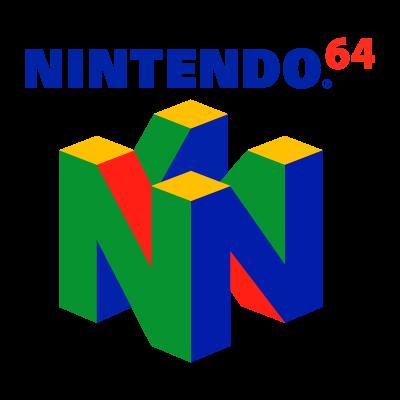 Nintendo 64 logo vector logo
