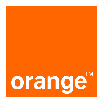 Orange logo vector logo