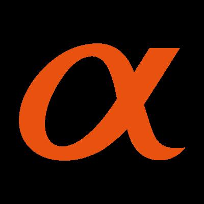 Sony Alpha logo vector logo