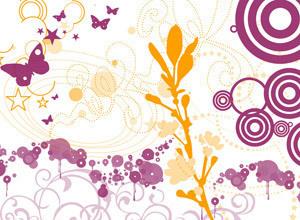 Ornaments vector logo