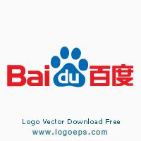 Baidu logo vector logo