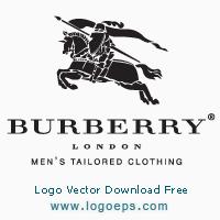 Burberry logo vector logo