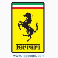 Ferrari logo vector logo