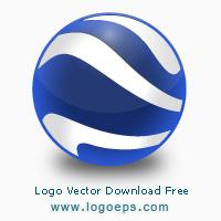 Google Earth logo vector logo