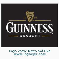 Guiness Draught logo vector logo