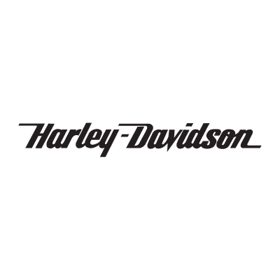 Harley-Davidson (text only) logo vector logo