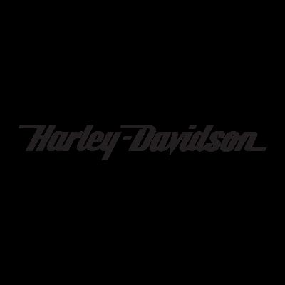 Harley-Davidson (text only) logo vector logo