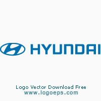 Hyundai logo vector logo
