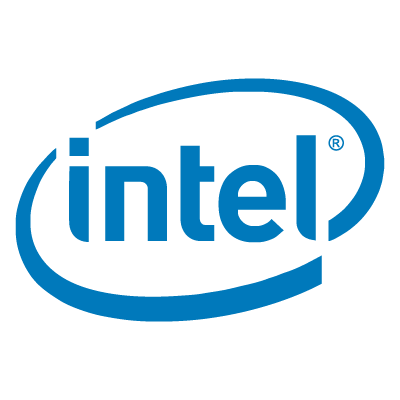 Intel logo vector logo