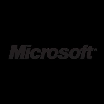 Microsoft (1987 – 2012) logo vector logo
