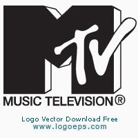 MTV logo vector logo