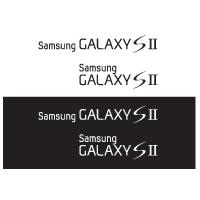 Samsung Galaxy S 2 logo vector logo