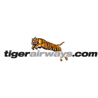 Tiger Airways logo vector logo