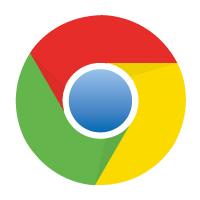 Google Chrome logo vector logo