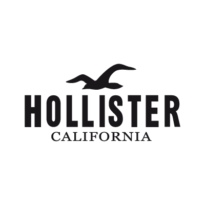 Hollister California logo vector logo