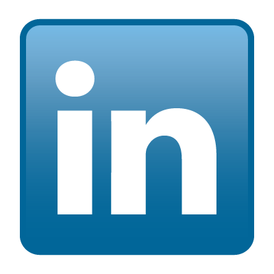 LinkedIn icon logo vector logo