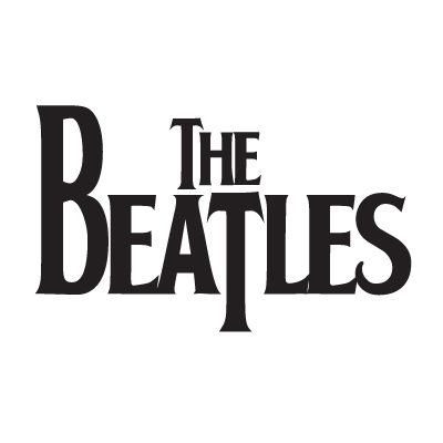 The Beatles logo vector logo