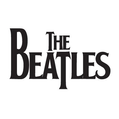 The Beatles logo vector logo