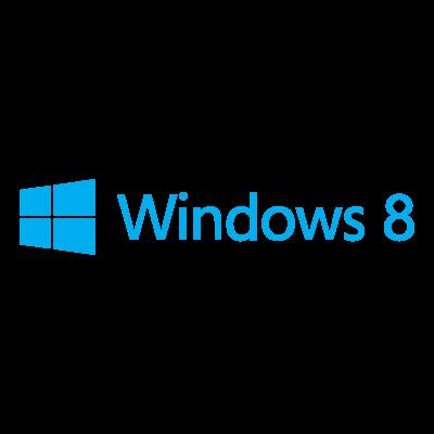 Windows 8 logo vector logo