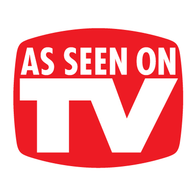 As seen on TV logo vector logo