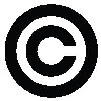 Copyright symbol logo