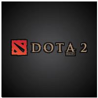 DotA 2 logo vector logo