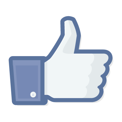 Facebook Like logo vector logo