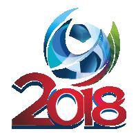 Russia 2018 logo vector logo